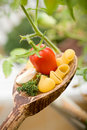 Mediterranean food Royalty Free Stock Images