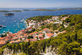 Mediterranean islands shot in isle of hvar croatia Royalty Free Stock Photography