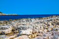 Mediterranean rocky shores Royalty Free Stock Photography