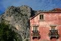 Mediterranean scene Royalty Free Stock Photo
