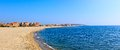 Mediterranean sea coast. Nice France. Royalty Free Stock Photos