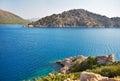 Mediterranean sea landscape. Royalty Free Stock Photo