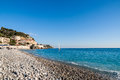 Mediterranean Sea in Nice - France Royalty Free Stock Photography