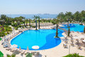 Mediterranean Sea resort recreation area Royalty Free Stock Photo