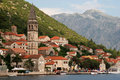 Mediterranean town - Perast, Montenegro Royalty Free Stock Photo