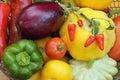 Mediterranean vegetables Royalty Free Stock Photos