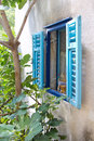 Mediterranean window typical in landscapes Royalty Free Stock Photos