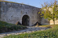 Medjit tabia one old fortification stronghold near silistra Stock Photo