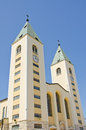 Medjugorje, St. James Church Royalty Free Stock Photo