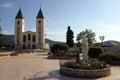 Medugorje church Royalty Free Stock Photo
