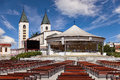 Medugorje church Royalty Free Stock Photo