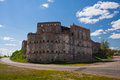 Medzhybizh cossack castle Royalty Free Stock Image