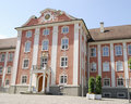 Meersburg city house Royalty Free Stock Photo
