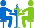 Meet with coffee shop