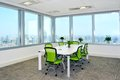 Meeting room big with modern decoration Stock Photos