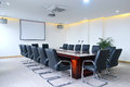 Meeting room big with modern decoration Stock Photo