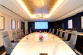 The meeting room interior at luxury hotel ras al khaimah uae Stock Images