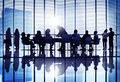 Meeting Seminar Conference Business Collaboration Team Concept Royalty Free Stock Photo