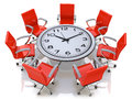 Business meeting time. Conference concept Royalty Free Stock Photo
