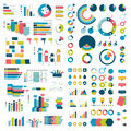 Mega Collection of charts, graphs, flowcharts, diagrams and infographics elements.