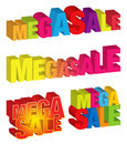 Mega Sale Stock Photography