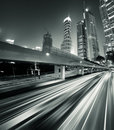 Megacity Highway Stock Image