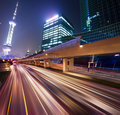 Megacity Highway Royalty Free Stock Photos