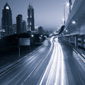 Megacity Highway Royalty Free Stock Photography