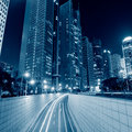 Megacity highway in china of city Stock Image