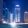 Megacity highway in china of city Royalty Free Stock Photography