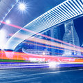 Megacity highway in china of shanghai Stock Image