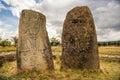 Megalithic Tiya stone pillars, Addis Ababa, Ethiopia Royalty Free Stock Photo