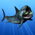 Megalodon Royalty Free Stock Photos