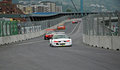Megane Trophy at Bilbao Urban Circuit Stock Images