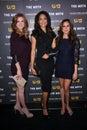 Meghan Markle, Sarah Rafferty, Gina Torres Royalty Free Stock Image