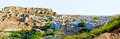 Mehrangarh fort rising above the city jodhpur rajasthan india Stock Images