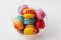 Mehrfarbiger sugar cookies Stockfotografie