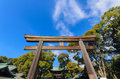 Meiji-Jingo Shrine Gate In Tok...