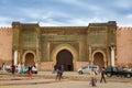 Meknes, Morocco - March 04, 2017: Meknes Square