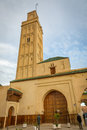 Meknes, Morocco - March 04, 2017: The mosque on the edge of Mekn