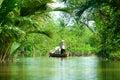 Mekong delta, Can Tho, Vietnam Royalty Free Stock Photos