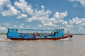 Mekong river cruise Royalty Free Stock Photo