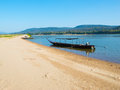 Mekong River landscape Royalty Free Stock Photos