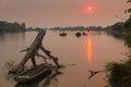 Mekong River in Laos Royalty Free Stock Photo