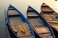 Mekong River Sunset Royalty Free Stock Photo