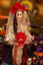 Meksykańska śmierć bride jpg Zdjęcie Royalty Free