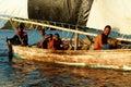 Melanesian people of Papua New Guinea Royalty Free Stock Photo