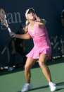 Melanie Oudin, US, Tennis Forehand Stock Photography