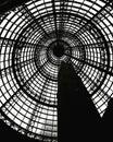 Melbourne central station black-and-white background image