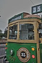 Melbourne City Circle Tram HDR Royalty Free Stock Photo